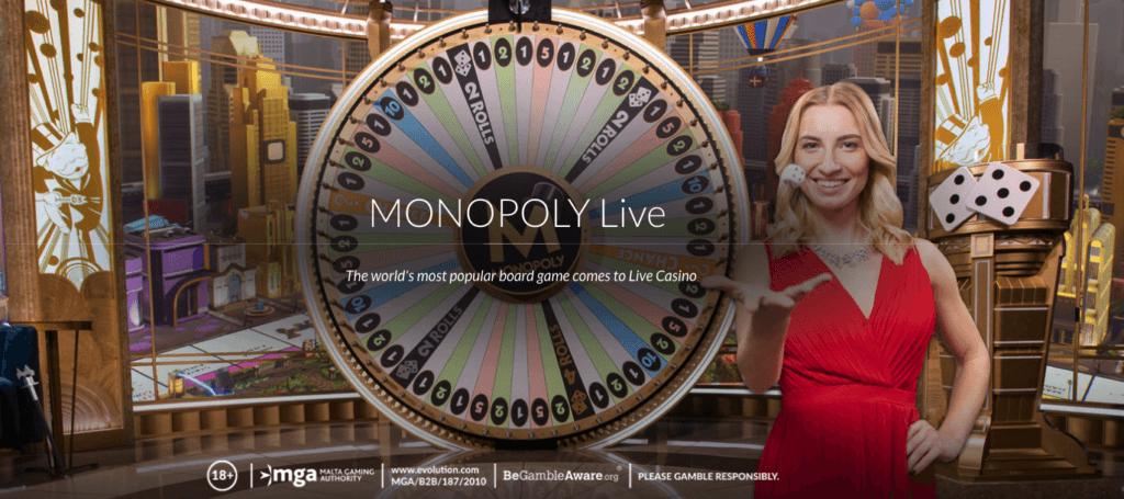 Monopoly Live - Evolution Gaming