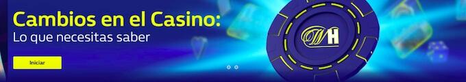 Políticas del casino online William Hill.
