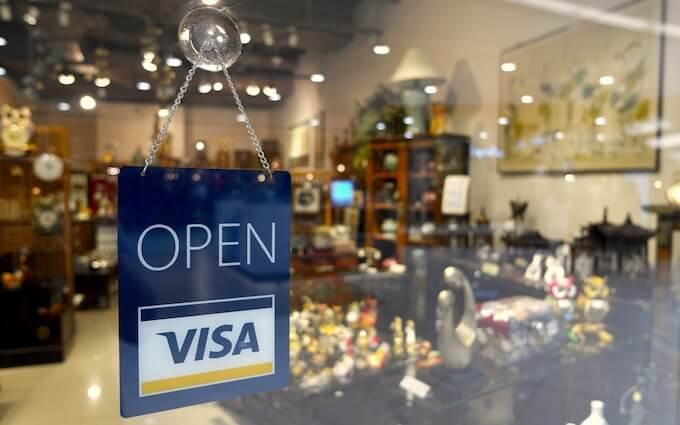 compra por internet con VISA