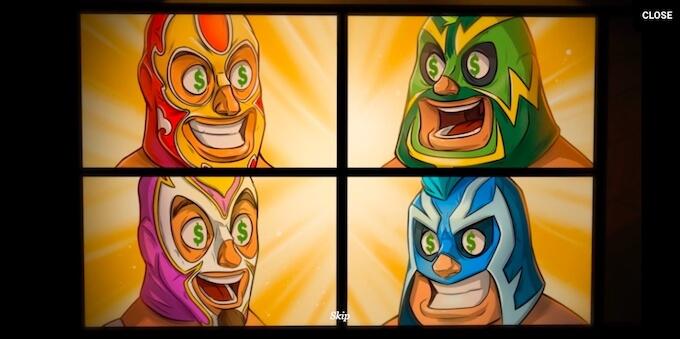Juegos de Lucha Libre área de efectos especiales y gráficos.