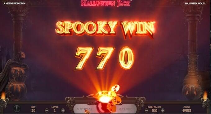 Jackpot de Halloween Jack Tragamoneda