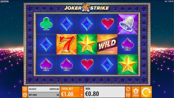 Gana hoy con joker strike