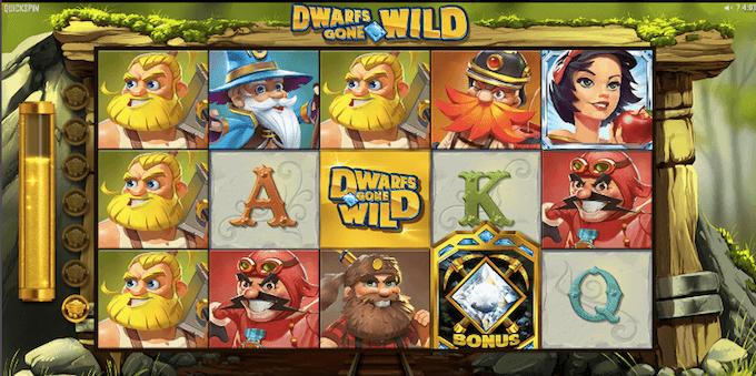 juego de tragamonedas dwarfs gone wild