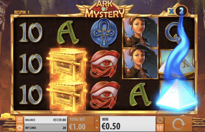 Ark of Mistery-juego-de-tragamoneda-quickspin