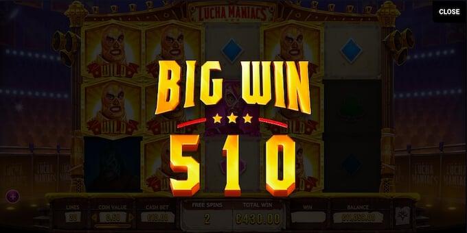 ¿Cómo se gana el jackpot de lucha maniacs?.