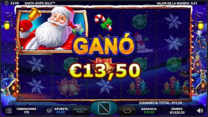 Santa Claus Goes Wild navidad.