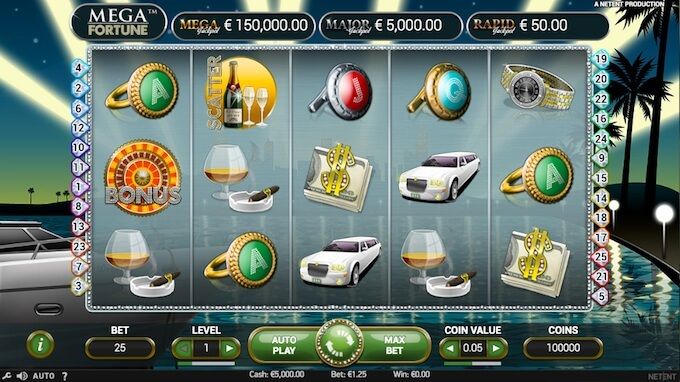juego de tragamonedas mega fortune