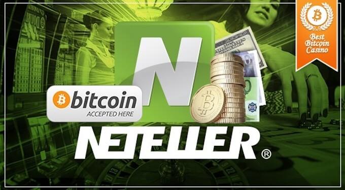 Neteller en casinos con bitcoins
