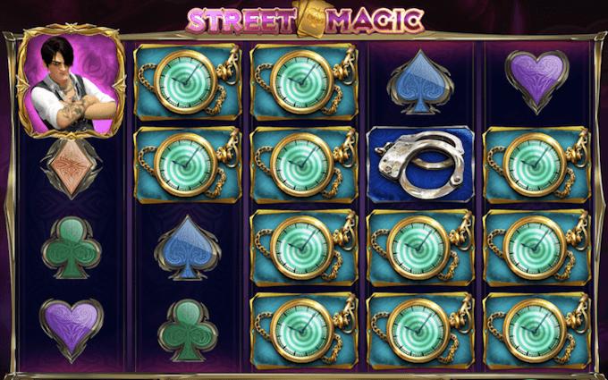 street magic tragamoneda play'n go