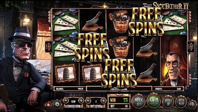 Juego de casino el padrino 2 online giros gratis.