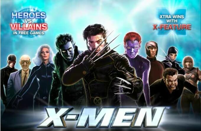 Juegos de slots de peliculas xmen online.
